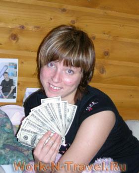 Лозинская Анна, Work and travel 2007